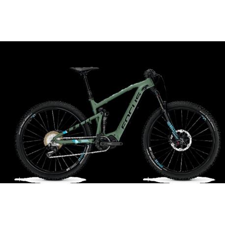 VTT électrique Focus Jam2 29 Pro Vert/Noir