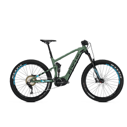 VTT électrique Focus Jam2 Plus Vert/Noir