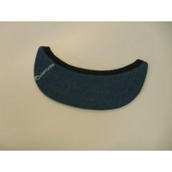 Visière amovible Overade pour casque Plixi Bleu Jeans