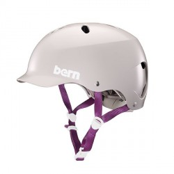 Casque femme Bern Lenox 2018 Satin Purple Haze