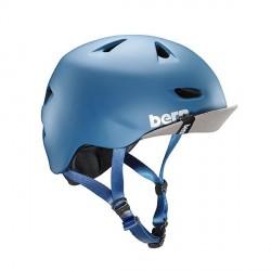 Casque Bern Brentwood Matte Steel Blue