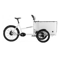 Triporteur électrique Butchers & Bicycles MK1-E NuVinci N380 Blanc