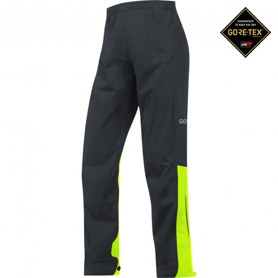 Pantalon Gore Wear C3 Gore-Tex Active black/neon yellow