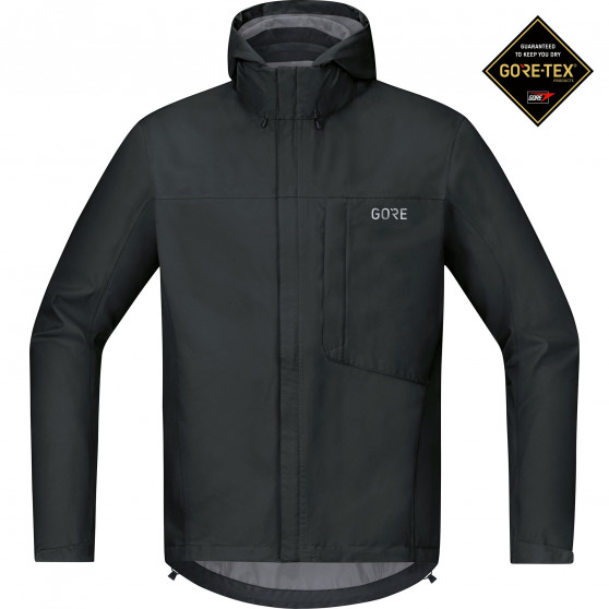 Veste à capuche Gore Wear C3 Gore-Tex Paclite black
