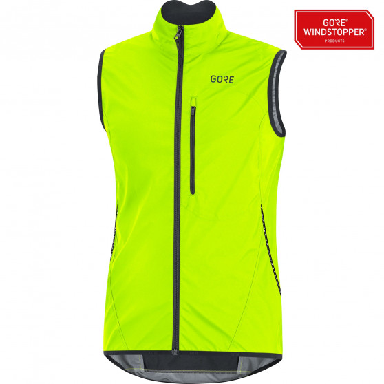 Gilet Gore Wear C3 Windstopper Light neon yellow/black