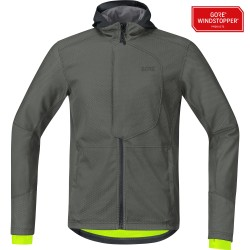 Veste Gore Wear C3 Windstopper Urban Castor Grey