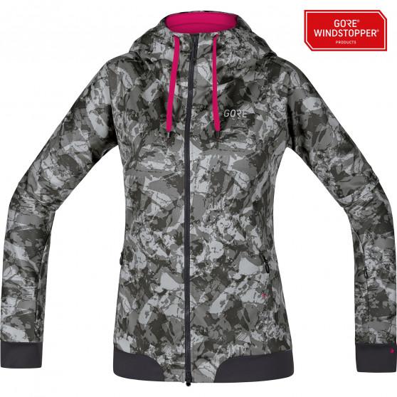 magasin d'usine c07ae 335a7 Veste à capuche Femme Gore Wear C5 Windstopper Trail