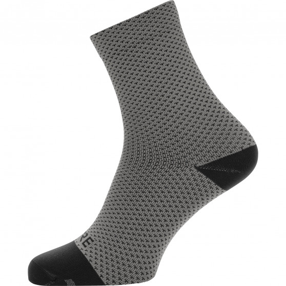 Chaussettes mi-hautes Gore Wear C3 Dot graphite grey/black
