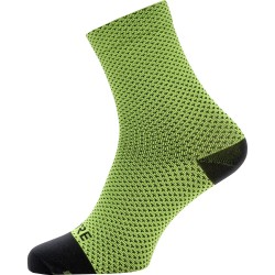 Chaussettes mi-hautes Gore Wear C3 Dot graphite neon yellow/black