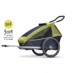 Remorque de vélo enfant Croozer Kids for 1/2 places