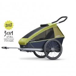 Remorque de vélo enfant Croozer Kids for 1/2 places