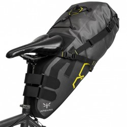 Sacoche de selle bikepacking étanche Apidura Expedition 17L fixation
