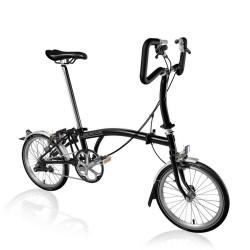 Vélo pliant Brompton type P monovitesse