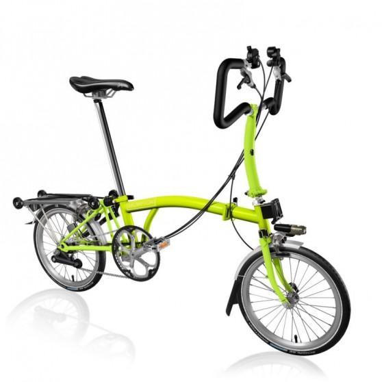 Vélo pliant Brompton type P 3 vitesses