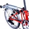 Vélo pliant Brompton type P 6 vitesses