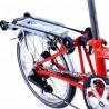 Vélo pliant Brompton type S 6 vitesses arrière