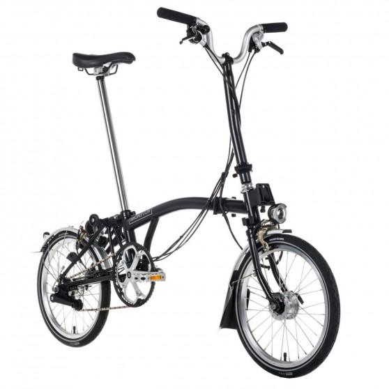 Vélo pliant Brompton type H 2 vitesses noir