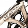 Vélo pliant Brompton Nickel édition limitée