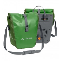 Paire de sacoches avant Vaude Aqua Front 2 x14L vert