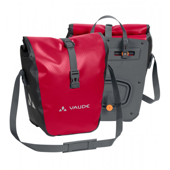 Paire de sacoches avant Vaude Aqua Front 2 x14L rouge