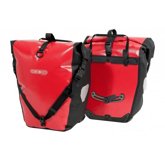 Paire de sacoches arrière Ortlieb Back-Roller Classic 2 x 20L rouge