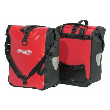 Paire de sacoches Ortlieb Sport Roller Classic rouge 2 x 12.5L