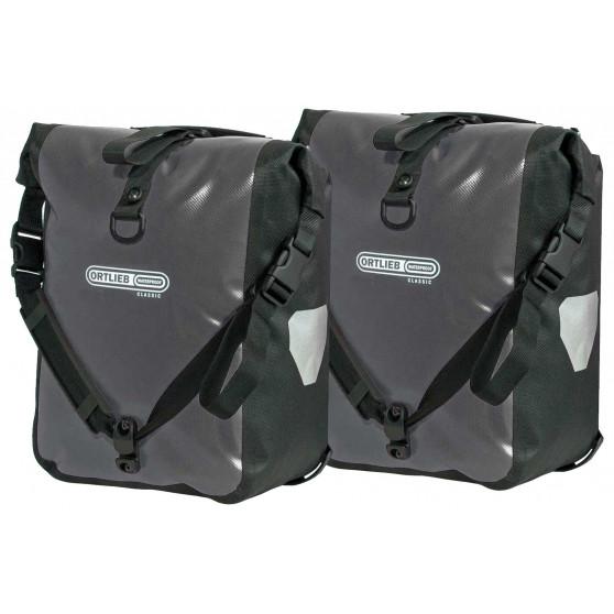 Paire de sacoches avant Ortlieb Sport Roller Classic 2 x 12.5L gris