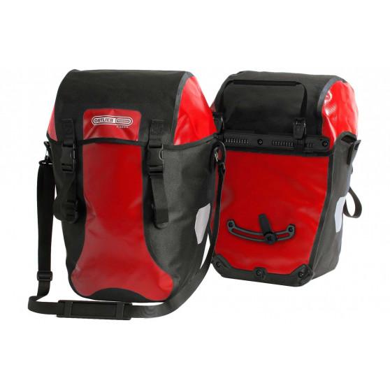 Paire de sacoches arrière Ortlieb Bike-Packer Classic 2 x 20L rouge