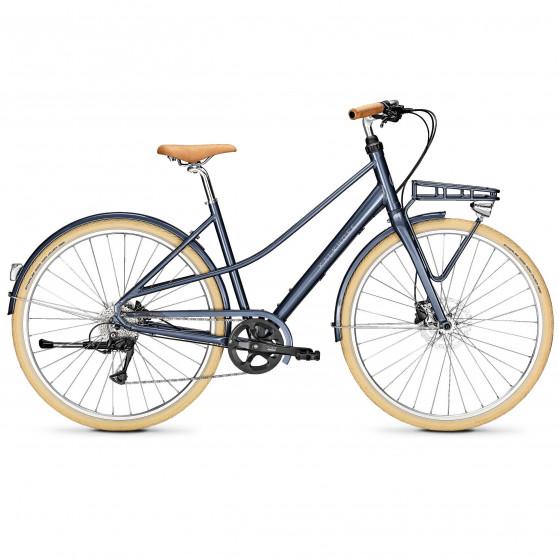 Vélo de ville Kalkhoff Scent Carry chinablue glossy