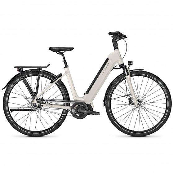 Vélo de ville électrique Kalkhoff Image 5.S Move whitesmoke glossy