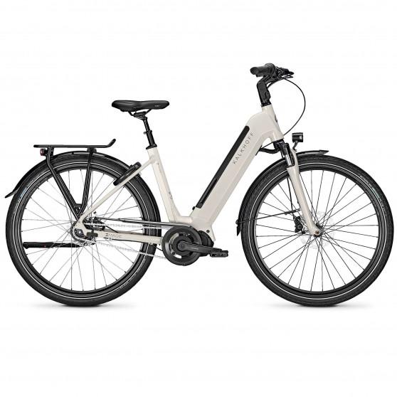Vélo de ville électrique Kalkhoff Image 5.S XXL whitesmoke glossy