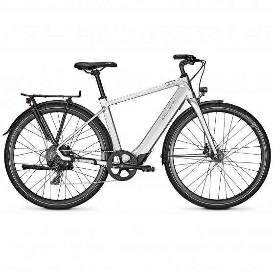 Vélo de ville électrique Kalkhoff Berleen 5.G Move chromosilver glossy diamant
