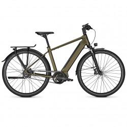 Vélo de randonnée électrique Kalkhoff Endeavour 5.S Belt darkolivegreen diamant
