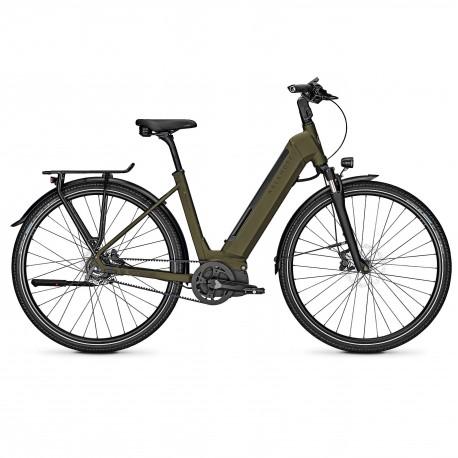 Vélo de randonnée électrique Kalkhoff Endeavour 5.I Belt darkolivegreen wave