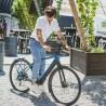 Vélo de ville électrique Kalkhoff Berleen 5.G Edition bleu diamant