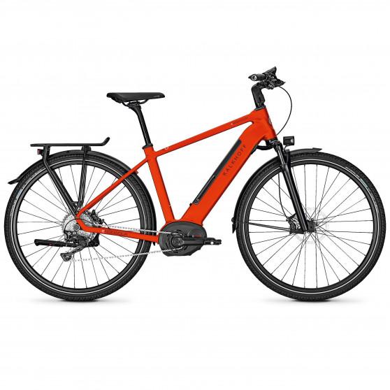 Vélo de randonnée électrique Kalkhoff Endeavour 5.B Excite firered diamant