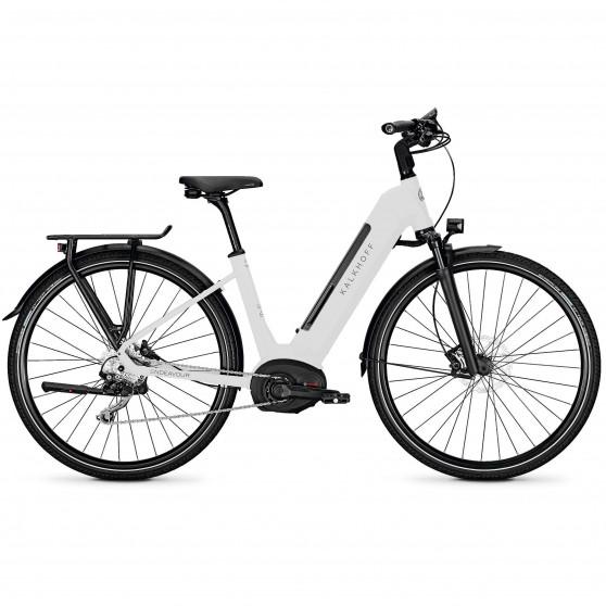 Vélo de randonnée électrique Kalkhoff Endeavour 5.B Advance wave white