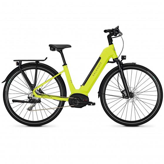 Vélo de randonnée électrique Kalkhoff Endeavour 5.B Move wave limegreen