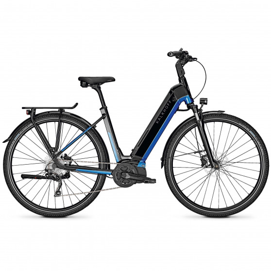 Vélo de randonnée électrique Kalkhoff Endeavour 5.I Advance wave magicblack pacificblue
