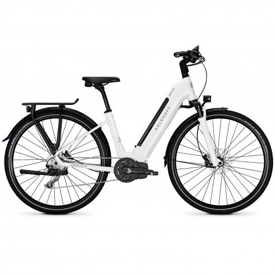 Vélo de randonnée électrique Kalkhoff Endeavour 5.I Advance wave white