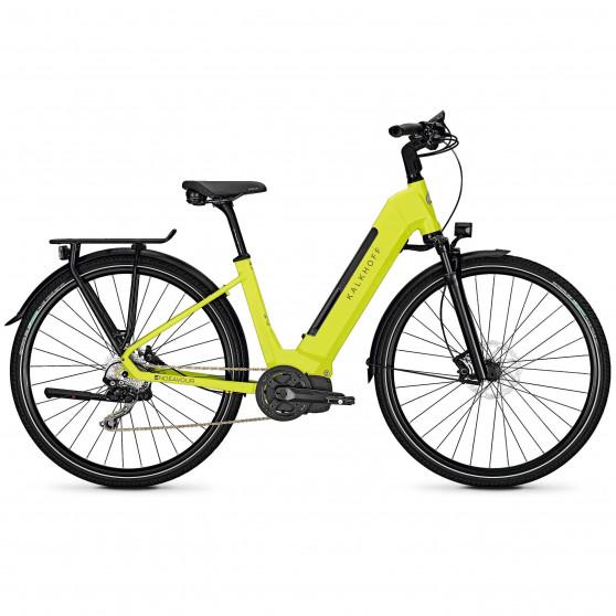 Vélo de randonnée électrique Kalkhoff Endeavour 5.I Move wave limegreen