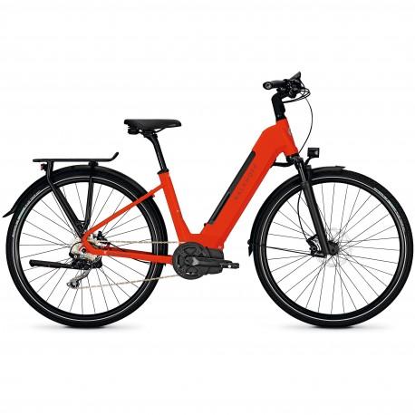 Vélo de randonnée électrique Kalkhoff Endeavour 5.I Excite wave firered