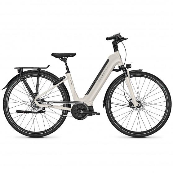 Vélo de ville électrique Kalkhoff Image 5.I Move wave whitesmoke