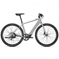 Vélo de ville électrique Kalkhoff Berleen 5.G Pure Advance diamant coolgrey