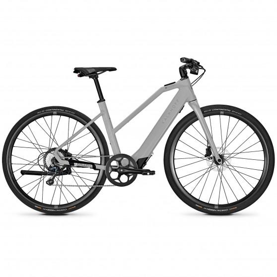 Vélo de ville électrique Kalkhoff Berleen 5.G Pure Advance trapez coolgrey