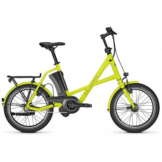 Vélo de ville électrique Kalkhoff Sahel 3.I Move limegreen/diamondblack