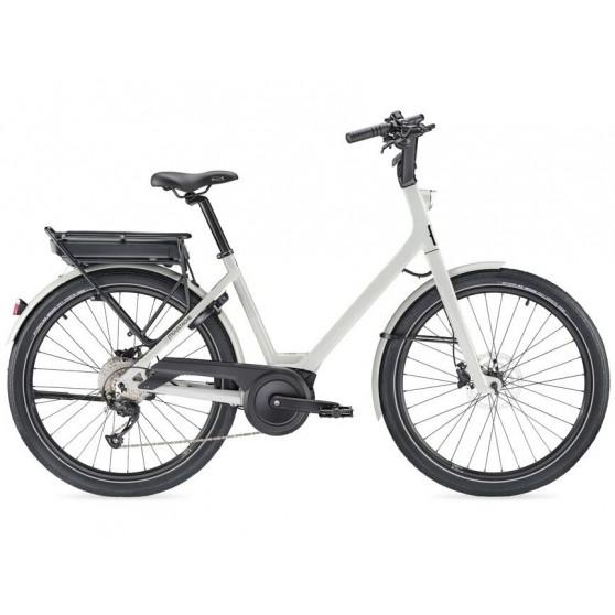 Vélo de ville électrique Moustache Lundi 26.1 gris clair