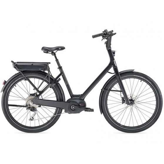 Vélo de ville électrique Moustache Lundi 26.3 noir