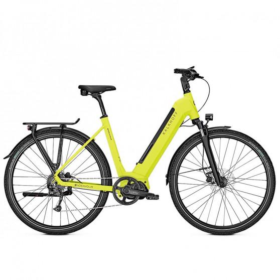 Vélo de randonnée électrique Kalkhoff Endeavour 5.S Move limegreen matt wave