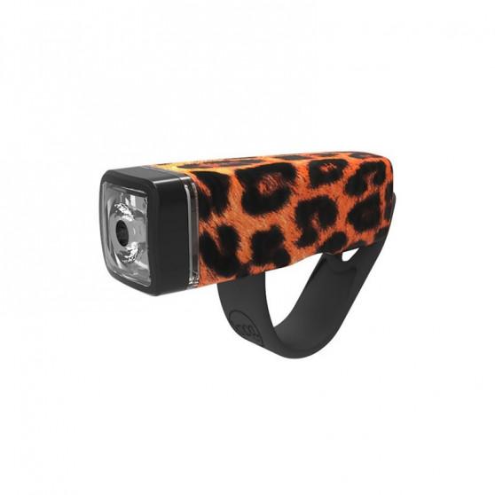 Eclairage avant Knog Pop I léopard